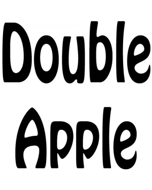 Apple Double (FRUIT ELIQUID)
