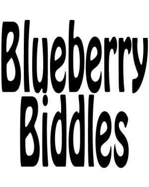 Blueberry Biddles (TANK CRACKERS)