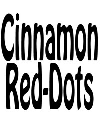 Cinnamon Red Dots