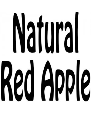 Natural Red Apple